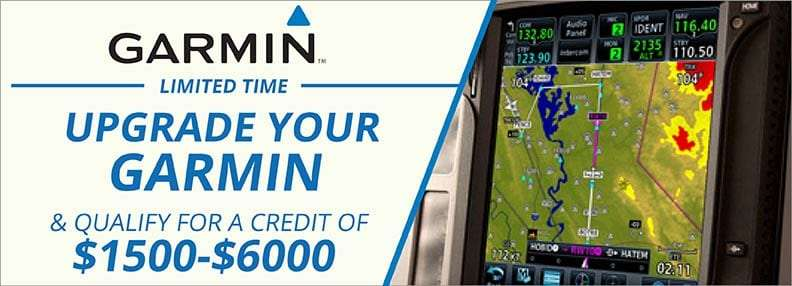 [Offer Expired] Garmin Offers Limited-Time Customer Loyalty Trade-in Program for GNS, GNS WAAS, CNX, and MX20 Products