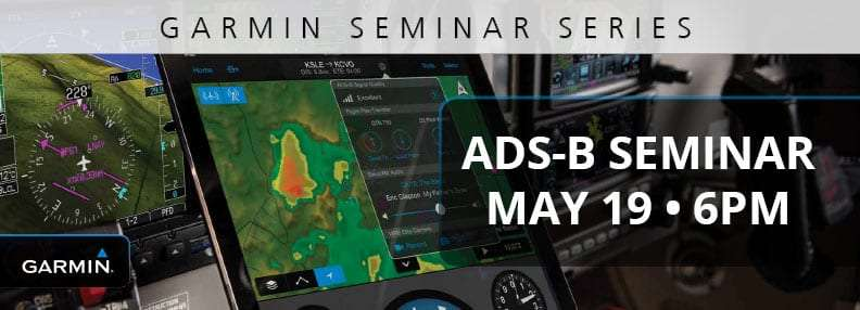 [Event Complete] Jet Center Medford Invites You To An Automatic Dependent Surveillance-Broadcast (ADS-B) Seminar: